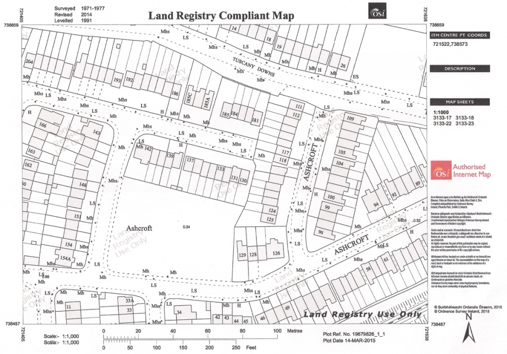 land registry maps