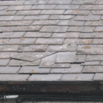 Damaged Roof Slates