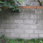 Garden Wall Damage